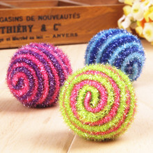 High quality Pet Dog Cat Toy Vogue Balls Run Catch Throw Play Funny Chew Pets Multicolor Toys Pet Product 2017 #TX(China)