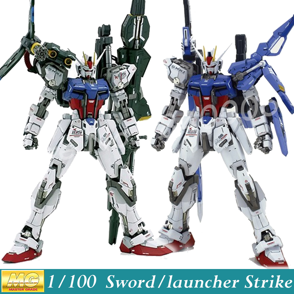 Momoko Model Gundam Seed MG GAT-X105 Sword / Launcher Strike Gundam Ver. RM 1/100 Scale Action Figure Model Assembled Toys Anime<br><br>Aliexpress