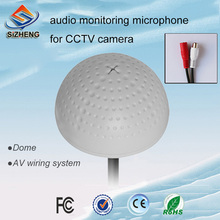 SIZHENG COTT-20S Ceiling audio CCTV microphone mini sound monitor for video surveillance systems