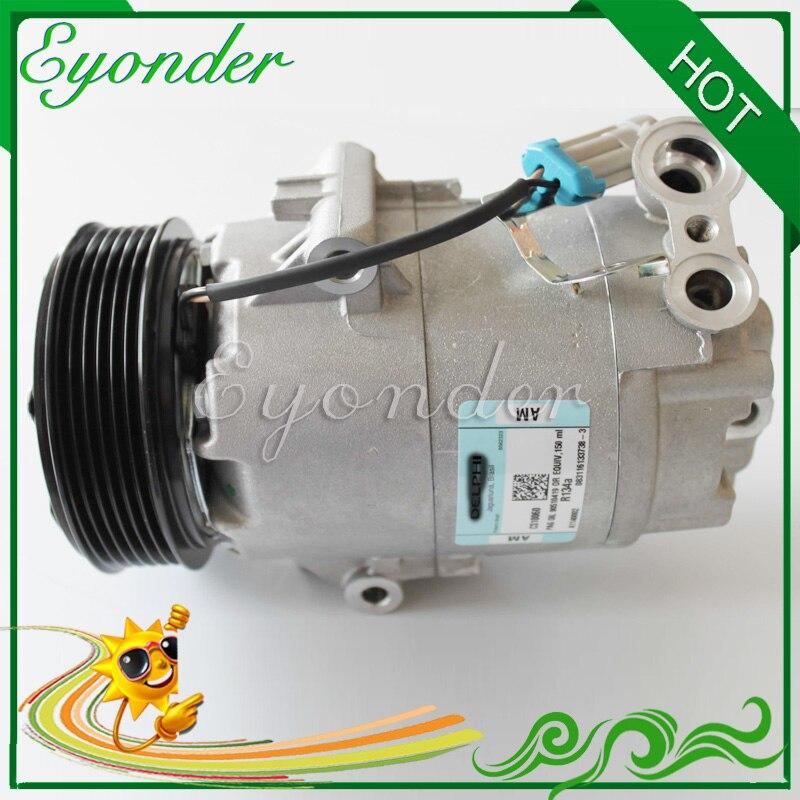 For Chevrolet Aveo 2004-2008 AC A//C Compressor w// Clutch Top Quality 95234615