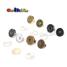 20set / Pack 14mm 18mm Strong Magnetic Snap Fasteners Clasps Buttons Handbag Purse Wallet Craft Bags Parts Accessories #FLQ081
