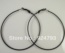 50mm 60mm 70mm 80mm Black Hoop Earrings  Fashion Earring Big Hoop Earring