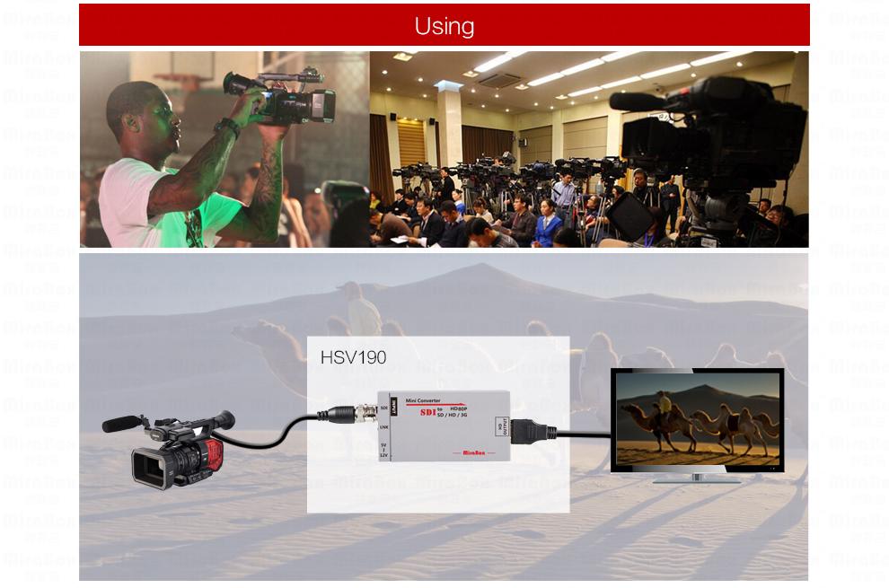 1080P Mini 3G SDI To HDMI Converter With Audio For HD Camera SDI To HDMI Video Converter Mini Box Support SDI3GHD SDI Signal (8)