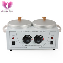 Double Paraffin Wax Heater Machine Double Wax Warmer Paraffin Bath For Hand and Feet Parafina Manos Hands SPA Beauty Machine