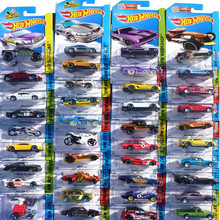 72 style 5pcs 100% Hotwheels Cars Random hot sale Original race cars scale models mini alloy cars toy for boys hobby collection(China)