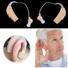 New Rechargeable Hearing Aids Personal Sound Voice Amplifier Behind The Ear Promotion