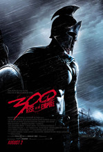 300 RISE OF AN EMPIRE Frank Miller DC Comics Marvel Comics Movie Art Wall Decor Fabric Poster P016