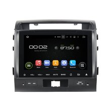 otojeta car dvd player for toyota LandCruiser lc200 OCTA CORE ANDROID 6.0 2Gb ram auto gps stereo BT/radio/dvr/obd2/tpms/camera