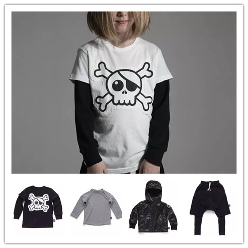 2017 AUTUMN WINTER  barcenola kids NUNUNU HARM PANTS JACKETS COAT SKULL T SHIRTS TEES CHILDREN BRAND CLOTHING VESTIDOS enfant<br><br>Aliexpress