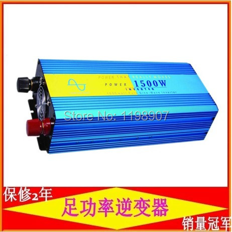 1500W pure sine wave inverter 12VDC input with high quality good price<br><br>Aliexpress