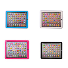 Children Sound Learning Machine Touch Tablet English Computer Development Toy(China)