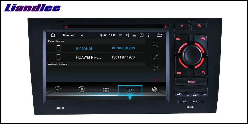 Liandlee Car Multimedia Player NAVI For Audi A6 C5 4B 1997~2004 Car Touch Screen System Radio TV DVD Stereo GPS Navigation 16