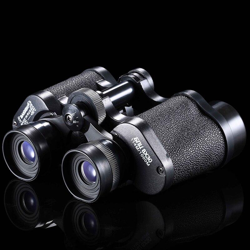 High Quality Low Price Hunting Binocular  Camping  Outdoor Sports Hunting Mountaineering Hiking Binocular 8X30 Telescope<br>