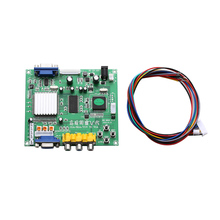 1PC RGB CGA EGA YUV to VGA HD Video Converter Board Moudle HD9800 GBS8200(China)