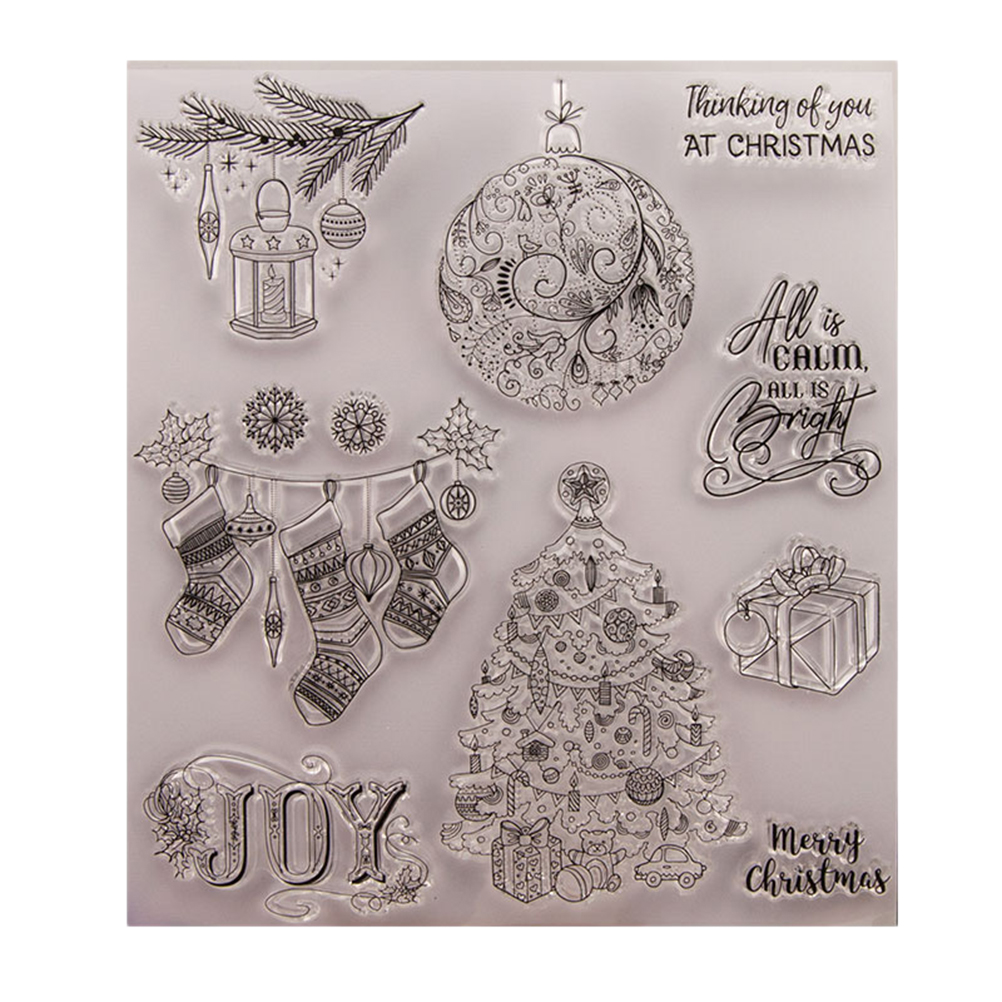 Transparent Silicone Rubber Clear Stamps Scrapbooking Decor Embossing DIY Crafts