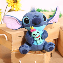 23cm Kawaii Stitch Plush Doll Toys Anime Lilo and Stitch Stich Plush Toys for Children Kids Birthday Gift(China)