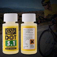 Buy Ezmtb Mineral Oil brake oil Bicycle Disc Brake Oil Fluid DOT Hydraulic Mineral Lubricant Mountain Bike 60ml