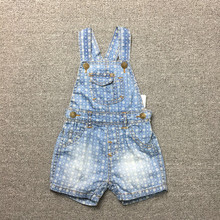 NEW 6-24M Baby Bays Girls Denim Shorts Jeans Soft Newborn Suspender Jeans Toddler Baby shorts Infant Overalls