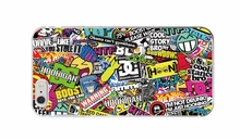 Sticker Bomb Graffiti HOONIGAN Smiley Morbido cell phone bags case cover for iphone 4S 5S 5C SE 6S 7 PLUS Samsung IPOD Touch 4 5