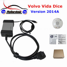 Newly Support Gasoline Cars 2014A Software For Volvo Voda Dice Special For Volvo With Multi-language For Volvo Vida Dice