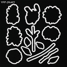 YPP CRAFT Sunflowers Transparent Stamp And Cutting Dies for DIY Scrapbooking/Card Making/Kids Fun Decoration Supplies