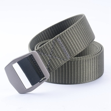 120CM Marine Corps Tactical Belts Military Canvas Belt For Mens Buckle Belts Nylon Outdoor Sports Ceinture Jeans Casual Cintos