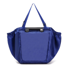 2017 Hot Dark Blue Storage Bag Eco-Friendly Shopping Bags Nylon Sundries Handbag Large Capacity Foldable Vaccum Compressed Bag