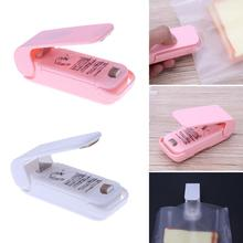 Mini Portable Handy Bag Clips Handheld Heat Sealer Sealing Seal Packing Machine Household Plastic Bag Work with Battery(China)