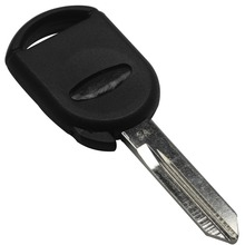 20S/LOT No Chip Transponder Key Shell WITH LOGO For Ford Lincoln Mercury Uncut Key Blank Case (can install chip)