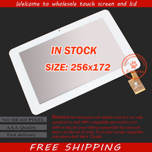 "Original new 10.1"" touch digitizer touch panel 257*172mm for Sanei N10 AMPE A10S Dualcore 3G version Tablet PC TPC0323 White"