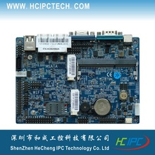 HCIPC M201-1 ITX-HCM25I62A,Atom D2550 3.5inch ITX Motherboard,Mini ITX motherboards for POS,Digital signature,bank terminal etc(China)