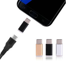 5pcs/Packs Micro USB Female to USB 3.1 Type C Male Adapter Charger Converter Connector