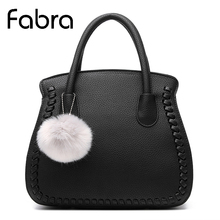 Fabra Designer Handbags Quality PU Leather Women Bag Luxury Crossbody Women Messenger Lady Small Shoulder Shell Bag 28*15*25 CM(China)