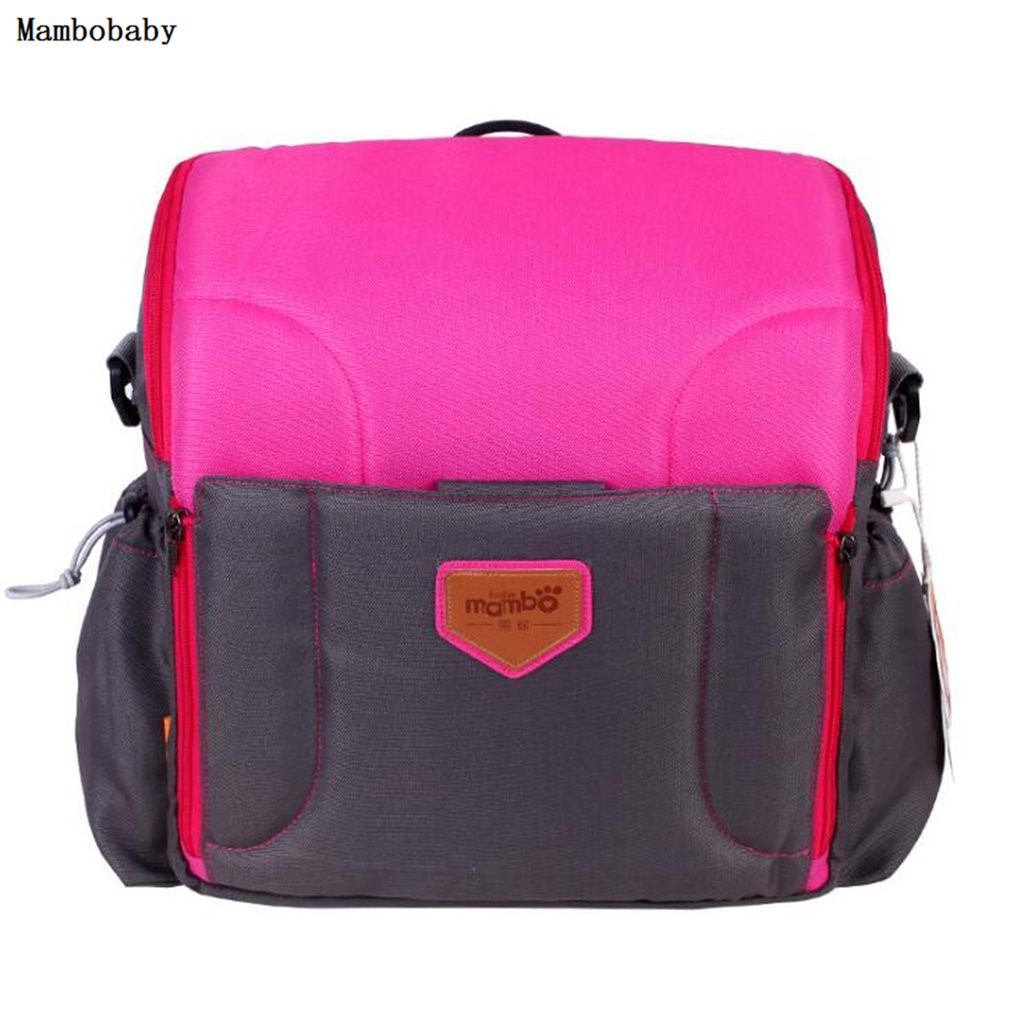 Mambobaby Diaper Bags Mummy Maternity Nappy Bag Large Capacity Backpack Multifunction Fashion Travel Portable Baby Nursing Bag<br>