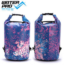 Water Pro 20L Spark Dry Bag Waterproofing Membrane for Water Sports Tube Snorkeling Diving Boating Surfing 10L/20L Multi color(Hong Kong)