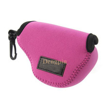 Dengpin High Quality Neoprene Soft Shockproof Pink Camera Case Bag Pouch for Sony A5100L A5100 A5000 NEX-5T NEX-5R NEX3N 16-50mm