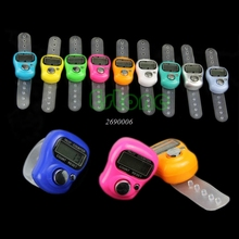 Hot Stitch Marker and Row Counter LCD Electronic Digit Tally Counter(China)