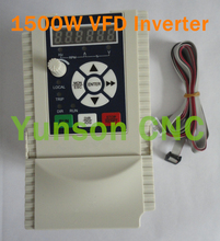 1.5KW 1500W 2HP 400Hz 220V input and 220V ouput motor drive Variable Frequency Drive VFD inverter for cnc router spindle motor