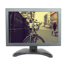 10.1 inch LCD monitor display LED monitor display industrial monitor with VGA/BNC/AV/HDMI/USB interface(China)