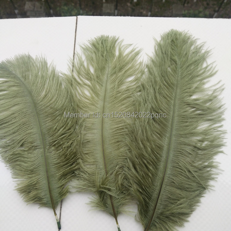 Wholesale 50PCS high quality natural ostrich feathers 6-8 inch//15-20cm