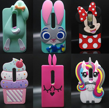 Cute 3D Cartoon Silicone Ice cream Stitch dog Phone case For Moto G3 cover For Motorola Moto G 3rd gen / Moto G Gen 3/Moto G3