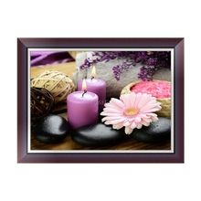 Beautiful Design DIY 5D Candles Diamond Embroidery Rhinestone Painting Cross Stitch Decor Gift jul25
