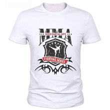 MMA Wrestling Fight Shirt Punk Fans' Casual T-shirt Mens T Shirts Fashion 2016 Printed T Shirt Cool Tee Tops S-XXXL