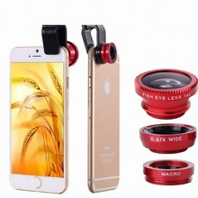 Phones Accessories Fisheye Lens for Iphone 6 S 6S Plus 7 SE 5S 5C Samsung Galaxy Note 5 4 xiaomi redmi 4X Camera Fish Eye Cover(China)