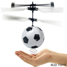 Super Cool Flying Football Induction Flying Toys Radio Remote Control RC Helicopters Quadcopters Drones For Kids Toys Baby