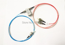 Free Shipping 1x2 Mechanical Fiber Optic Switch FC/PC Connector Latching or Non-Latching