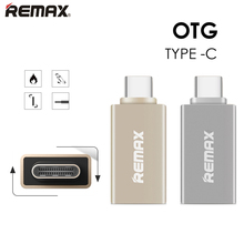 Remax USB-C 3.1 Type C to USB 3.0 OTG Metal Adapter Converter OTG Data Sync Charger Charging HUB For MacBook for nokia N1 Zuk 1