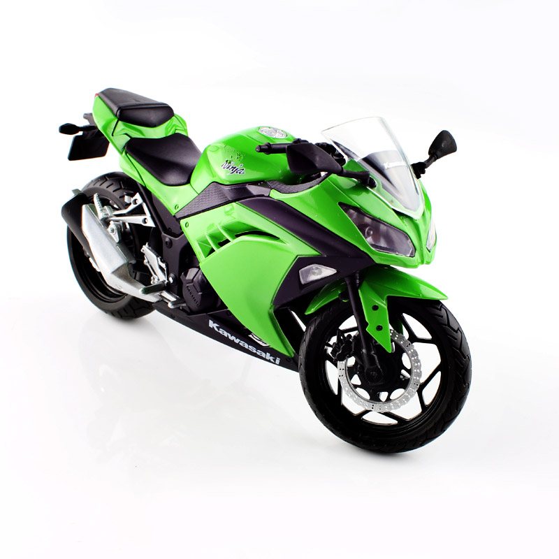 1:12 Children Mini Motorcycle Diecast model motorbike metal tank models race car collectible boys toys for Kawasaki Ninja 250(China (Mainland))