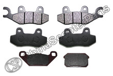 3 Set 6PCS Front Rear Brake Pad Kazuma 500 500CC ATV UTV Buggy(China)