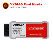 [VXDIAG Distributor] Newest! VXDIAG VCX NANO for Ford/Mazda 2 in 1 with IDS V104 v101 Better Than VCM II FOR FORD Free shipping
